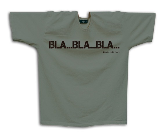 bla bla bla wanda t shirt. Black Bedroom Furniture Sets. Home Design Ideas