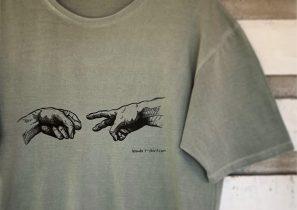 Oh my God! by Wanda t-shirt.com • Made in Barcelona • Organic Cotton • Sostenible